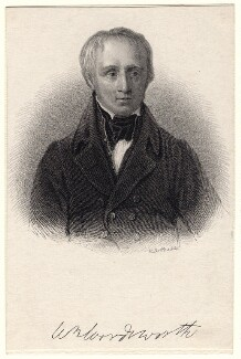 William Wordsworth, by Robert Cabell Roffe, after  Sir William Boxall - NPG D8812