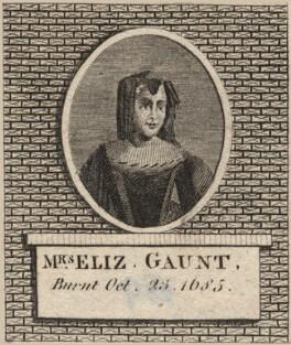 Elizabeth Gaunt, after Unknown artist - NPG D8815