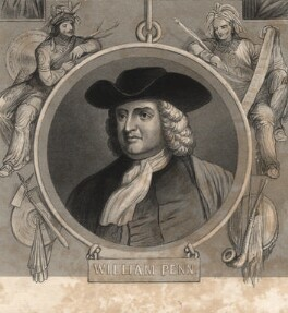 William Penn, by Prior, after  Unknown artist, mid 19th century - NPG D8816 - © National Portrait Gallery, London
