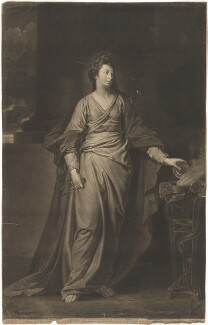 Mary Ann Yates, by Valentine Green, after  George Romney - NPG D8819