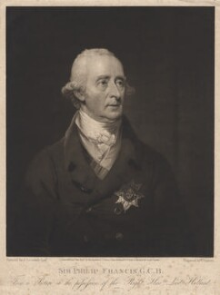 Sir Philip Francis, by and published by Thomas Goff Lupton, and published by  William Cribb, after  James Lonsdale, published 4 June 1817 - NPG D8820 - © National Portrait Gallery, London