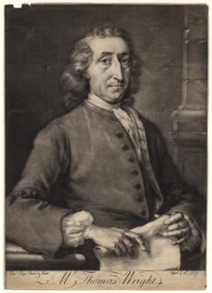 Thomas Wright, by Thomas Frye - NPG D8830