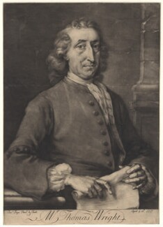 Thomas Wright, by Thomas Frye - NPG D8831