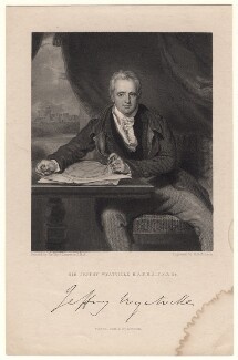 Sir Jeffry Wyatville, by John Henry Robinson, published by  Fisher Son & Co, after  Sir Thomas Lawrence - NPG D8839