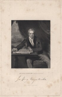 Sir Jeffry Wyatville, by John Henry Robinson, published by  Fisher Son & Co, after  Sir Thomas Lawrence - NPG D8841