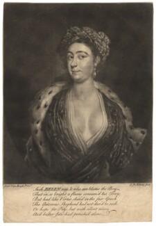 Amalie Sophie Marianne von Wallmoden (née von Wendt), Countess of Yarmouth, by G. de Köning, after  Peter van Hoogh - NPG D8850