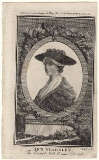 Ann Yearsley, by Wilson Lowry, after  Unknown artist, published 1787 - NPG D8853 - © National Portrait Gallery, London