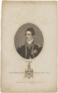 Sir James Lucas Yeo, by Henry Richard Cook, published by  Joyce Gold, after  Adam Buck - NPG D11012