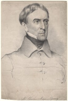 Charles Mayne Young, by Maxim Gauci, after  Eden Upton Eddis, 1830s - NPG D8857 - © National Portrait Gallery, London