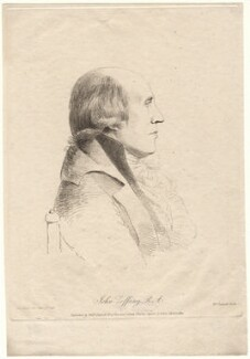 Johan Joseph Zoffany, by William Daniell, after  George Dance - NPG D8863