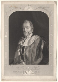 Thomas Dundas, 2nd Earl of Zetland, by Henry Chawnes Shenton - NPG D8865