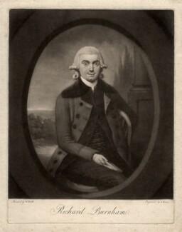 Richard Burnham, by John Dean, after  W. Smith - NPG D887
