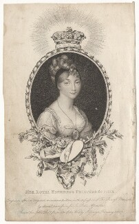 Princess Sophia, by Marie Anne Bourlier, published by  John Bell - NPG D8871