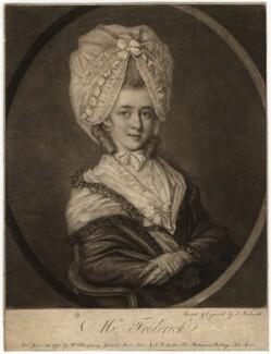 Catherine Frederick, by John Raphael Smith - NPG D8876