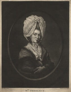 Catherine Frederick, by Robert Laurie, after  Hugh Douglas Hamilton - NPG D8877