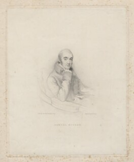 Samuel Rogers, by William Finden, after  Sir Thomas Lawrence - NPG D8884