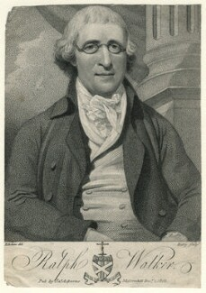 Ralph Walker, by William Ridley, published by  James Asperne, after  John Eckstein - NPG D8890