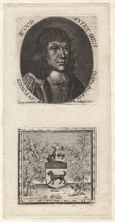 Anthony Wood, by and published by Michael Burghers - NPG D8898