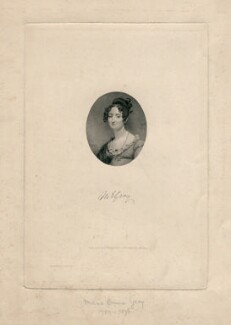 Maria Emma Gray, by George J. Stodart, after  J. Ayling - NPG D8917