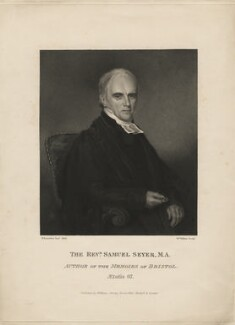 Samuel Seyer, by William Walker, published by  William Strong, after  Nathan Cooper Branwhite, (1824) - NPG D8923 - © National Portrait Gallery, London