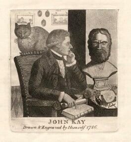 John Kay, by John Kay, 1786 - NPG D8953 - © National Portrait Gallery, London