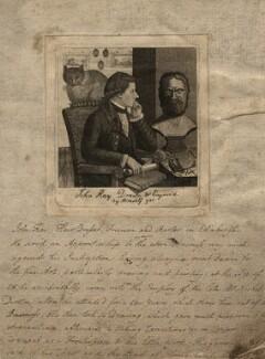 John Kay, by John Kay, 1786 - NPG D8954 - © National Portrait Gallery, London