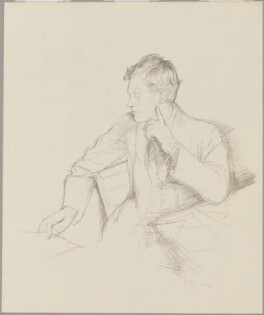 Charles Haslewood Shannon, by William Rothenstein - NPG D8966