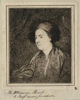 James Stuart, by Samuel William Reynolds, after  Unknown artist - NPG D8967