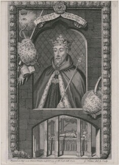 John of Gaunt, by George Vertue - NPG D8986