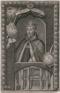 John of Gaunt, by George Vertue - NPG D8987