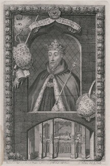 John of Gaunt, by George Vertue - NPG D8988