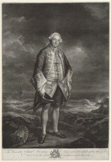 Edward Boscawen, by James Macardell, after  Sir Joshua Reynolds, 1767 - NPG D9021 - © National Portrait Gallery, London