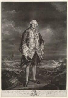 Edward Boscawen, by James Macardell, after  Sir Joshua Reynolds - NPG D9021