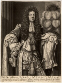John Sheffield, 1st Duke of Buckingham and Normanby when Earl of Mulgrave, by John Smith, published by  Edward Cooper, after  Sir Godfrey Kneller, Bt, 1688 - NPG D905 - © National Portrait Gallery, London