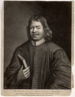 John Bunyan, by Richard Houston, after  Thomas Sadler, (1685) - NPG D914 - © National Portrait Gallery, London