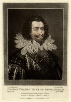 George Villiers, 1st Duke of Buckingham, by Charles Turner, after  Cornelius Johnson (Cornelius Janssen van Ceulen) - NPG D923
