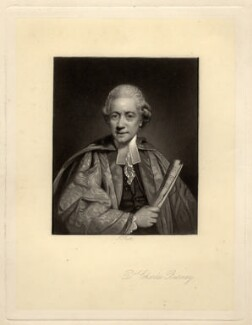 Charles Burney, by James Scott, after  Sir Joshua Reynolds, late 19th century - NPG D929 - © National Portrait Gallery, London