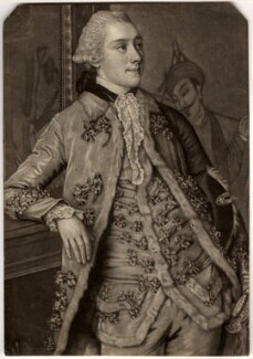 John Stuart, 1st Marquess of Bute, by John Raphael Smith, after  Jean Etienne Liotard - NPG D937