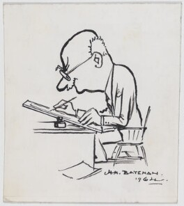H.M. Bateman, by H.M. Bateman - NPG D948