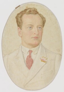 William Lygon, 7th Earl Beauchamp, by Charles March Gere - NPG D949