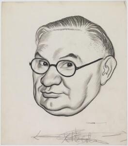 Ernest Bevin, by Leslie Illingworth - NPG D953