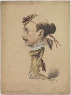 Dion Boucicault, by Frederick Sem - NPG D958