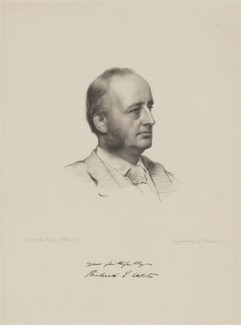 Richard Everard Webster, Viscount Alverstone, by George J. Stodart, after  Henry Tanworth Wells - NPG D9590