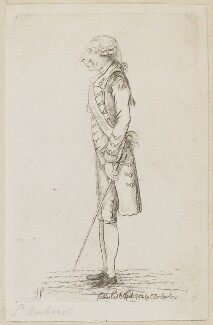 Jeffrey Amherst, 1st Baron Amherst, by James Sayers, published by  Charles Bretherton - NPG D9592