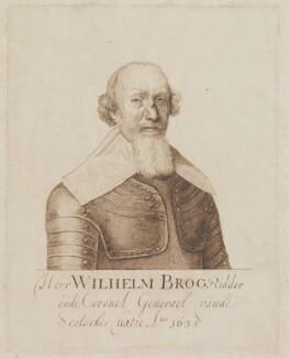 Sir William Brog, after Crispyn van den Queborne - NPG D960