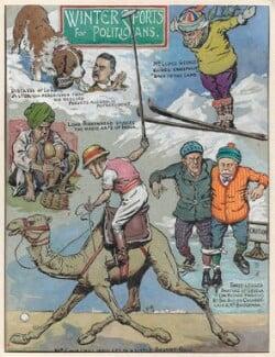 Winter Sports for Politicians, by Sir (John) Bernard Partridge, 1927 - NPG D9605 - © National Portrait Gallery, London