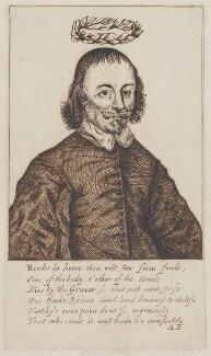 Richard Brome, after Thomas Cross - NPG D961