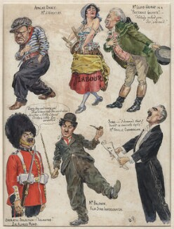 The Westminster Follies: Second Edition. New Turns! New Dresses!, by Bernard Partridge - NPG D9611