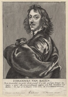 Johannes van Balen, by Wenceslaus Hollar, published by  Johannes Meyssens, after  Johannes van Balen - NPG D9612