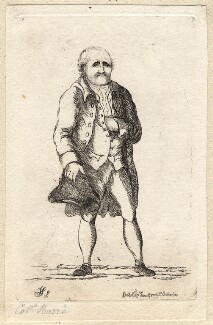 Isaac Barré, by James Sayers, published by  Charles Bretherton - NPG D9620
